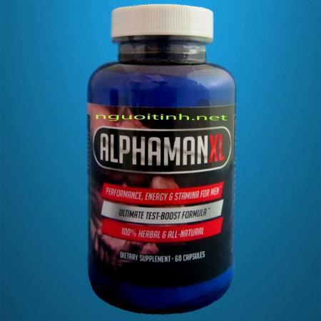 ALPHAMAN XL Tăng kích thước và sinh lý nam