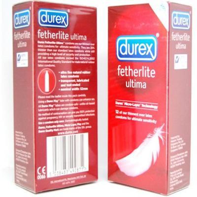 Bao cao su siêu mỏng Durex Fertherlite Ultima
