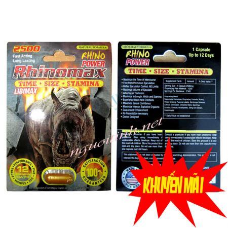 Cường dương thảo dược Rhinomax