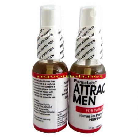 Nước hoa kích dục nữ Attract Men