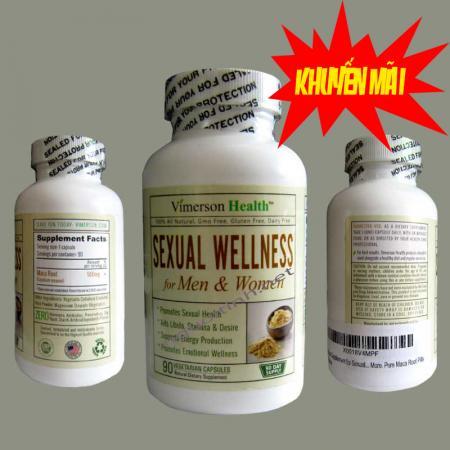 Thực phẩm điều trị sinh lý SEXUAL WELLNESS
