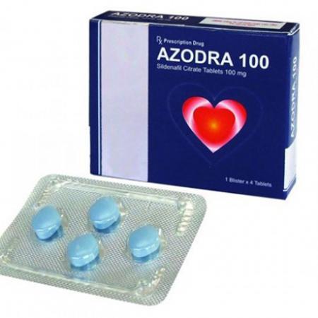 Thuốc cương dương nam Azora 100 mg