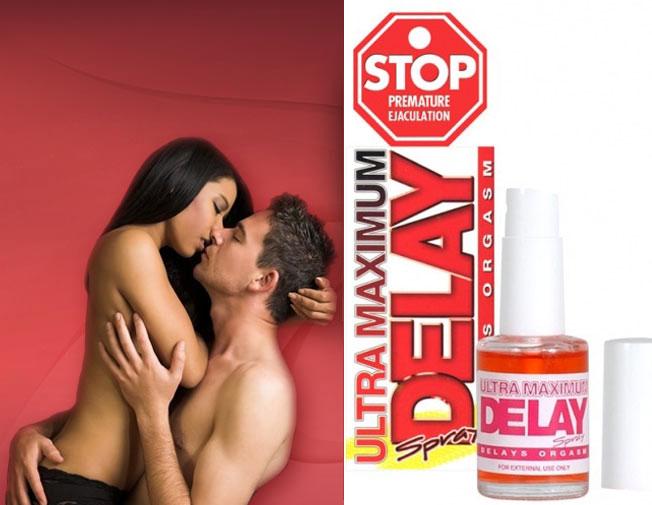 Thuốc xịt trị xuất tinh sớm chính hãng Mỹ Ultra Maximum Delay Spray 2