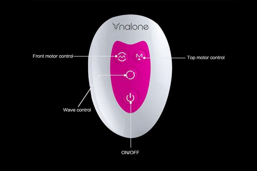 Dương vật đa năng Nalone rung thụt cao cấp