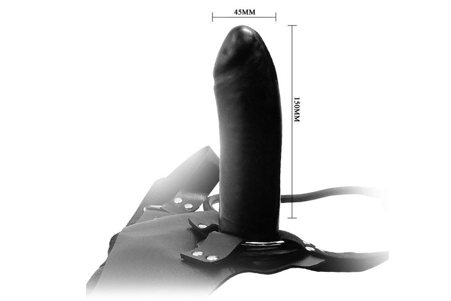 Dương vật dây đeo bơm hơi tự động cao cấp