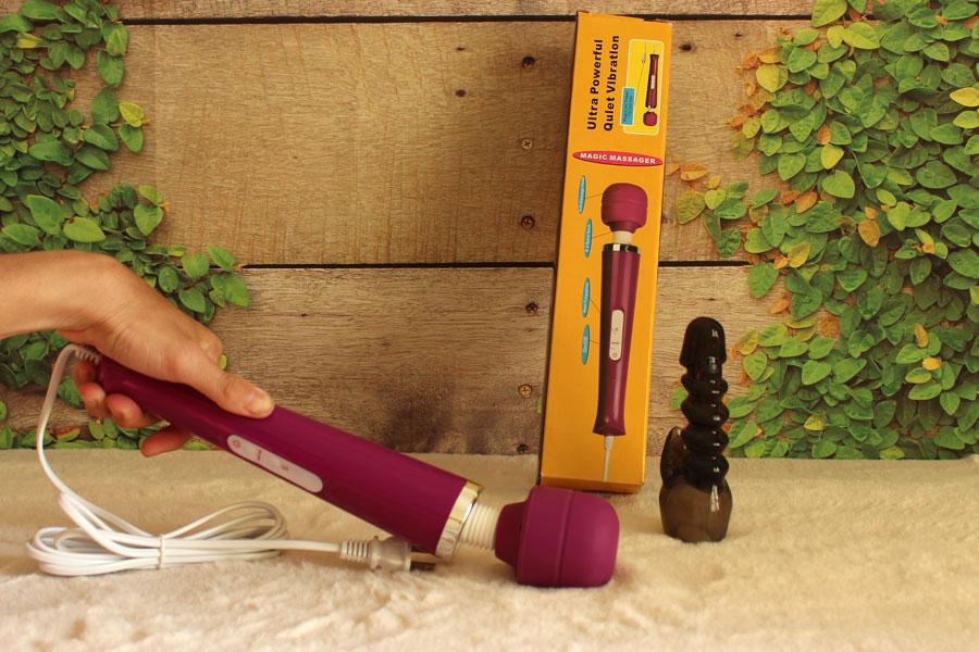 Chài rung massage 10 chế độ siêu khủng